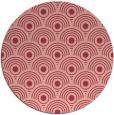 rug #300577 | round pink circles rug