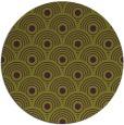 rug #300589 | round green circles rug