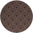 rug #300593 | round purple retro rug