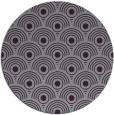 rug #300597   round purple circles rug