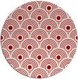 rug #300601 | round red circles rug