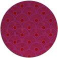 rug #300613 | round red circles rug