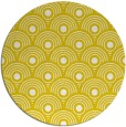rug #300637 | round white retro rug