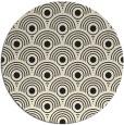 rug #300669 | round black circles rug
