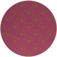 rug #300689 | round light-green circles rug