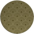 rug #300693 | round light-green circles rug
