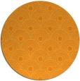 rug #300705   round light-orange circles rug