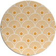 rug #300709 | round light-orange retro rug