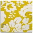 rug #301365 | square yellow rug