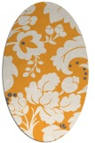 rug #301765 | oval light-orange natural rug
