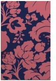 rug #301861 |  blue-violet rug