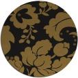 rug #302237 | round mid-brown natural rug