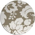 rug #302261 | round mid-brown natural rug