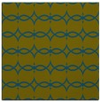 rug #304645 | square green traditional rug