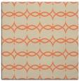 rug #304781 | square orange popular rug