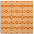 rug #304845 | square red-orange traditional rug