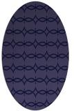 rug #305021 | oval blue-violet traditional rug