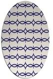 rug #305044 | oval traditional rug