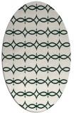 rug #305071   oval geometry rug