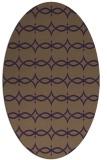 rug #305169 | oval purple traditional rug