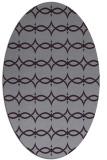 rug #305173 | oval purple traditional rug