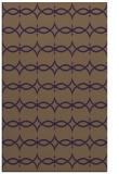 rug #305521    mid-brown geometry rug