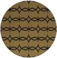 rug #305661 | round mid-brown traditional rug