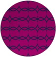 rug #305669 | round blue traditional rug