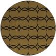 rug #305757 | round black traditional rug
