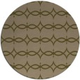 rug #305761 | round mid-brown traditional rug