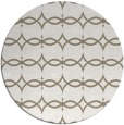 rug #305781 | round mid-brown traditional rug
