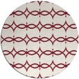 rug #305853 | round pink traditional rug
