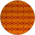 rug #305885 | round red rug