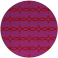rug #305893   round pink traditional rug
