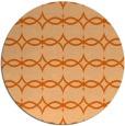 rug #305901   round red-orange traditional rug