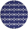 rug #305921 | round white traditional rug