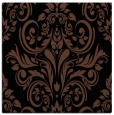 rug #306361 | square black damask rug