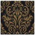 rug #306365   square black damask rug