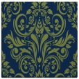 rug #306381 | square blue damask rug