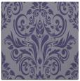 rug #306433 | square blue-violet damask rug