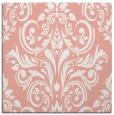 rug #306565 | square pink damask rug