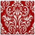 rug #306585 | square red traditional rug