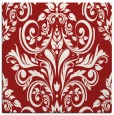 rug #306593 | square red traditional rug