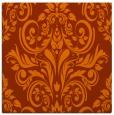 rug #306601 | square red-orange damask rug
