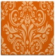 rug #306605 | square red-orange traditional rug