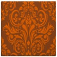rug #306609 | square red-orange traditional rug