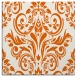 rug #306613 | square red-orange traditional rug