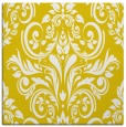 rug #306645 | square yellow rug