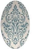 rug #306721   oval white traditional rug
