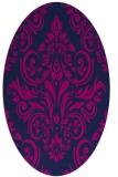 rug #306725 | oval traditional rug